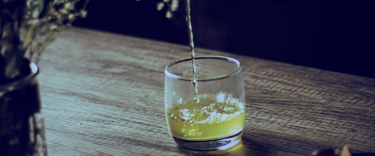El té verde, un súper producto.